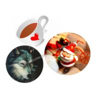 Cheap Customized Flip Effect 3D Lenticular Placemats Coasters Waterproof For House for sale