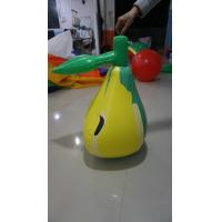 Best 3ft Inflatable Pear Fruit Shaped Balloons With Screen Printing EN71 ASTM wholesale