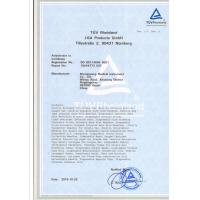 WUXI OUCO INTERNATIONAL GROUP CO., LTD Certifications