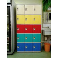 Best Strong / Beautiful Employee Storage Lockers 5 Comparts 1 Column For Public Place wholesale