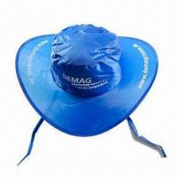 Best Sun Visor/Promotional Cap with Matching Pouch, Made of Nylon wholesale
