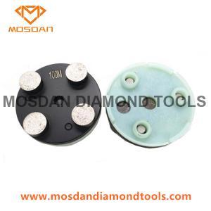 Best Klindex Concrete Grinding Diamond with 4 Buttons Segents wholesale