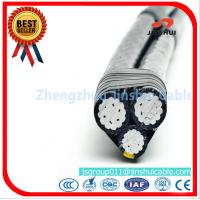 Cheap ASTM B - 230 Triplex Service Drop Cable XLPE Insulated Aluminum Alloy Conductor for sale