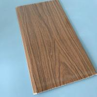 Cheap Anti Corrosion PVC Wood Panels For Interior Decoration 7mm / 7.5mm / 8mm Thickness for sale