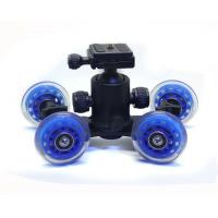 Cheap Table Top Compact Dolly Kit Skater Wheel Truck for DSLR Camera Video Monitor   for sale