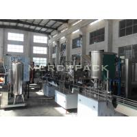 Best Small Scale Carbonated Drinks Filling Machine / Carbonated Soft Drinks Bottling Plant wholesale