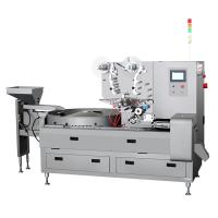Three Servo Candy Packaging Machine , Candy Wrapping Machine Easy Operation