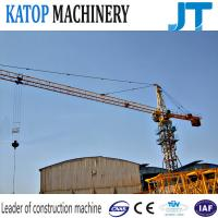 Buy cheap Factory price 6t load topkit tower crane TC5610 tower crane with CE from wholesalers