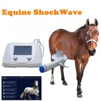 Buy cheap High Intensity Equine Extracorporeal Shock Wave Therapy Machine For Horse from wholesalers