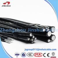 Cheap AAAC Wire Hippa Triplex Service Drop Cable PE Insulated Environmental Protection for sale