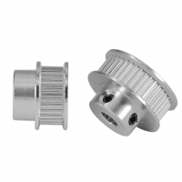 Best Silver Teeth Bore 5mm 3D Printer Timing Pulley Aluminum alloy wholesale