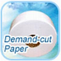 Biodegradable Unbleached Natural White jumbo roll tissue paper 18 g / ㎡
