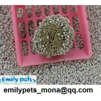 Feline Pine Clumping Quality Bentonite Cat Litter(1-4MM ball shaped) Emily pets products ...