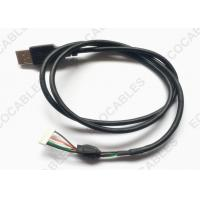 Best UL2725 USB Extension Cable Black PVC Jacket USB A male Cable With MLX 51004 Connector wholesale