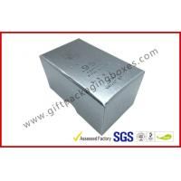 Best Free sample Silver Hot Stamping promotion Gift Boxes for memorabilia wholesale