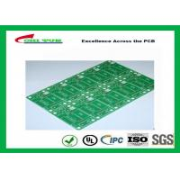 Best Tamura Matte Green Single Sided PCB   1L FR4 1.6mm Immersion Gold PCB wholesale