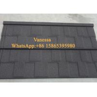 Cheap Against Snow Terracotta Roof Tiles size 1340*420mm / Modern Classical Tile Smoky Color for sale