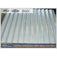 Best Galvanized / Power Coated Steel Corrugated Sheets Cold Rolled High - strength wholesale