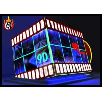 Best Digital Controlled XD Theatre with 9D Cinema Cabin and Motion Chair wholesale