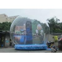 Best 3m - 5m Diameter Inflatable Christmas Snow Globe Outdoors Environmental Friendly wholesale