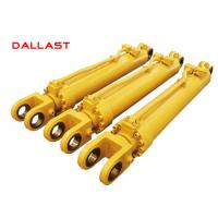 Best Truck Heavy Duty Hydraulic Cylinder Double Acting Chrome Engineering wholesale
