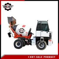 Best 1.2 Cubic Meters Self Loading Mobile Concrete Mixer Truck High Performance wholesale