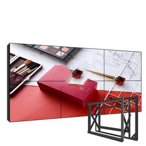 Best CB 3x3 LCD Video Wall Display 3D Noise Reduction 4k Video Wall wholesale