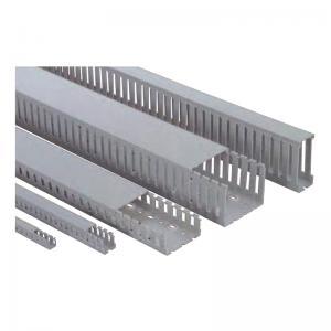 Best 1 - 2.9M white color pvc cable conduit / duct, pvc trunking with custom color wholesale