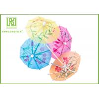 Best Multi - Colored Decorative Food Toothpicks Umbrella Cocktail Sticks Beach Party Decorations wholesale