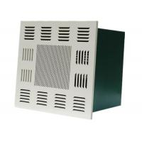 Cheap Cleanroom Ceiling Terminal Hepa Filter Box Fan Air Purifier For Food Industrial for sale