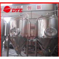 Best 1000L Industrial Beer Brewing Equipment With Pressure Relief Valve wholesale