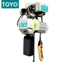 Best TOYO KD-1 Aluminum Alloy Magnetic Force Generator Limit Switch Transformer Electric Chain Hoist With Electric Trolley wholesale