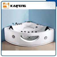 Best Luxury Sector Jacuzzi Corner Bathtub , 2 Person Whirlpool Bathtub For Small Space wholesale