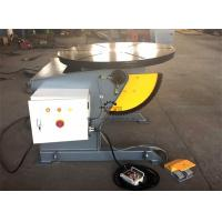 Best Tilting Rotary Welding Positioner Table With Hand Remote And Foot Pedal Control wholesale