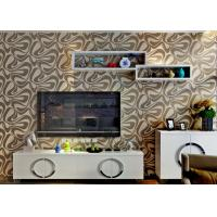 Champagne foam contemporary 3d home wallpaper geometric pattern for