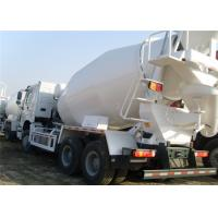 China 336hp Euro II Chassis 6x4 and 8x4 concrete mixers trucks hydraulic system on sale