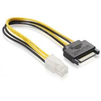 Best SATA 15 pin Male To ATX 4 pin Power Extension Cables For Power Supply ISO9001:2008 wholesale