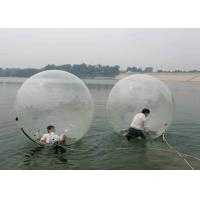 Best Fun Game TPU Inflatable Bubble Ball Tear Resistant High Transparency Appearance wholesale