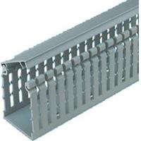 Cheap Combustion - proof durable PVC grey Solid Wiring Ducts for cable tray cover for sale