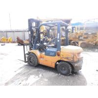China Original Color Second Hand Forklifts , Used Toyota 3 Ton Forklift 5m Mast on sale