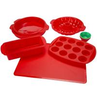 Best Silicone Bakeware Set 18-Piece Set including Cupcake Molds, Muffin Pan, Bread Pan, Cookie Sheet, Bundt Pan wholesale