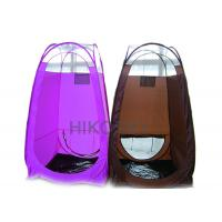 Best Black PE Waterproof Pop Up Spray Tanning Tent with Leak Proof Stain Resistant Floor OEM wholesale