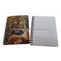 Cheap PET / PP Jotter 3D Lenticular Notebook A5/A6 Size UV  Printing for School for sale