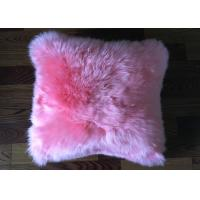 Best Single Side Fur Outdoor Chair Cushions , Australia Sheepskin Floor Seating Cushions  wholesale