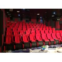 Best Sound Vibration Movie Theater System Arc Screen With Special Leather Theater Chairs wholesale