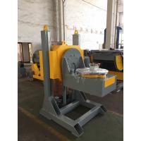 Cheap L Shaped Welding Positioner With 600mm Dia Table / Hydraulic Lifting Stroke for sale