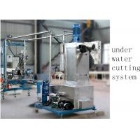 Best Underwater Pelletizer System Compounding Pelletizing PE Plastic Pellet Extruder 500 kg H wholesale