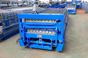 Best Hydraulic Trapezoidal Roofing PPGI Sheet Roll Forming Machine wholesale