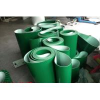 Best Smooth Surface Green PVC Conveyor Belt Replacement Conveyor Belts Thickness 1mm ~ 7mm wholesale