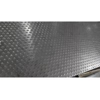 Best 5 Bar Thread Checkered Aluminum Sheet For Building , Curtain Wall wholesale